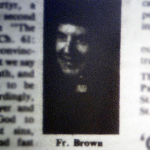 Rev. John Brown