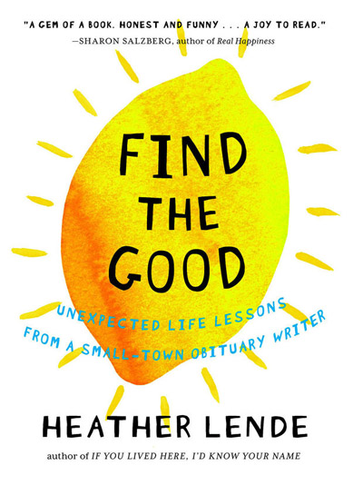 "the life and career of the author in alaska in find the good a book by heather lende Read find the good by heather lende by heather lende for free  alaska, lende knows something about  the perfect book club book"" —dana stabenow, author of."
